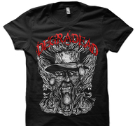 DEGRADEAD - T-SHIRT, A WORLD DESTROYER (BLACK)